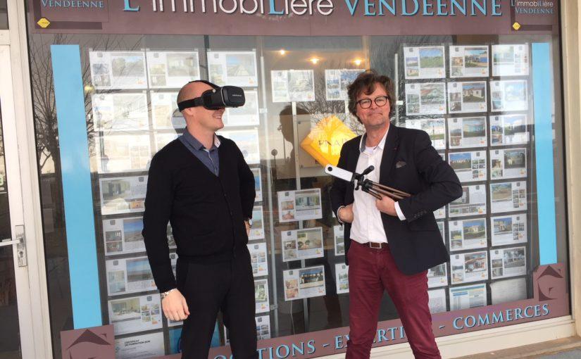 REPORTAGE 360° de L'IMMOBILIÈRE VENDÉENNE